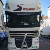Oslikavanje kamiona Sauber logistika