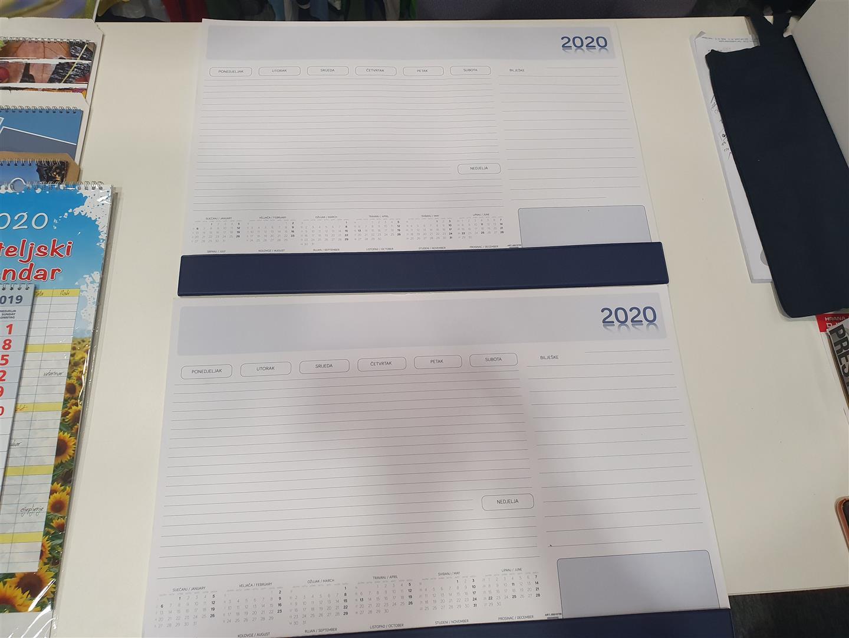 Stolni kalendar 2020