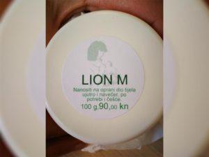 Naljepnica za kremu - Lion m