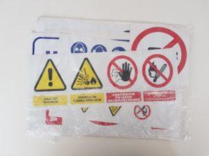 Naljepnice - Zaštita na radu