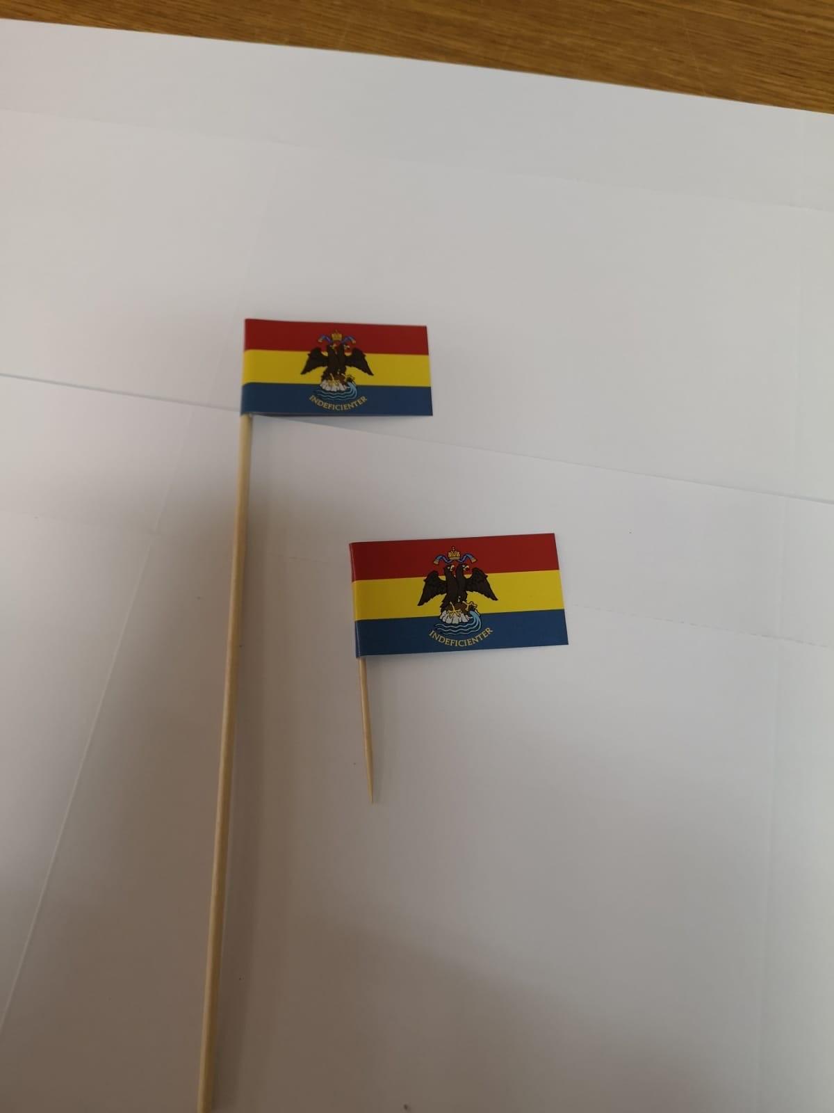 Zastavice na čačkalici