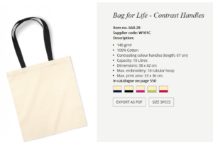 eko torbe 38x42 cm, 140 gr tanja- isporuka 7 dana+tisak