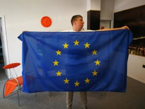 Tisak Europska zastava