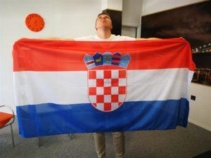 Tisak Hrvatska zastava