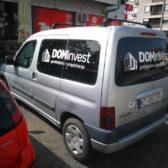 Oslikavanje vozila - Dom Invest