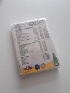 Plastificirani cjenik za kafić - Caffe bar drito