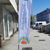 Beach flag - Buscaglione