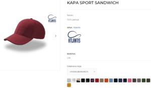 sport sandwich kapa