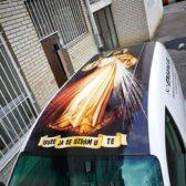 Oslikavanje vozila - Milosrdni Isus