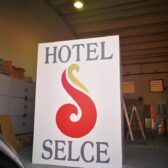 Rezana folija - radioodašiljač Hotel Selce