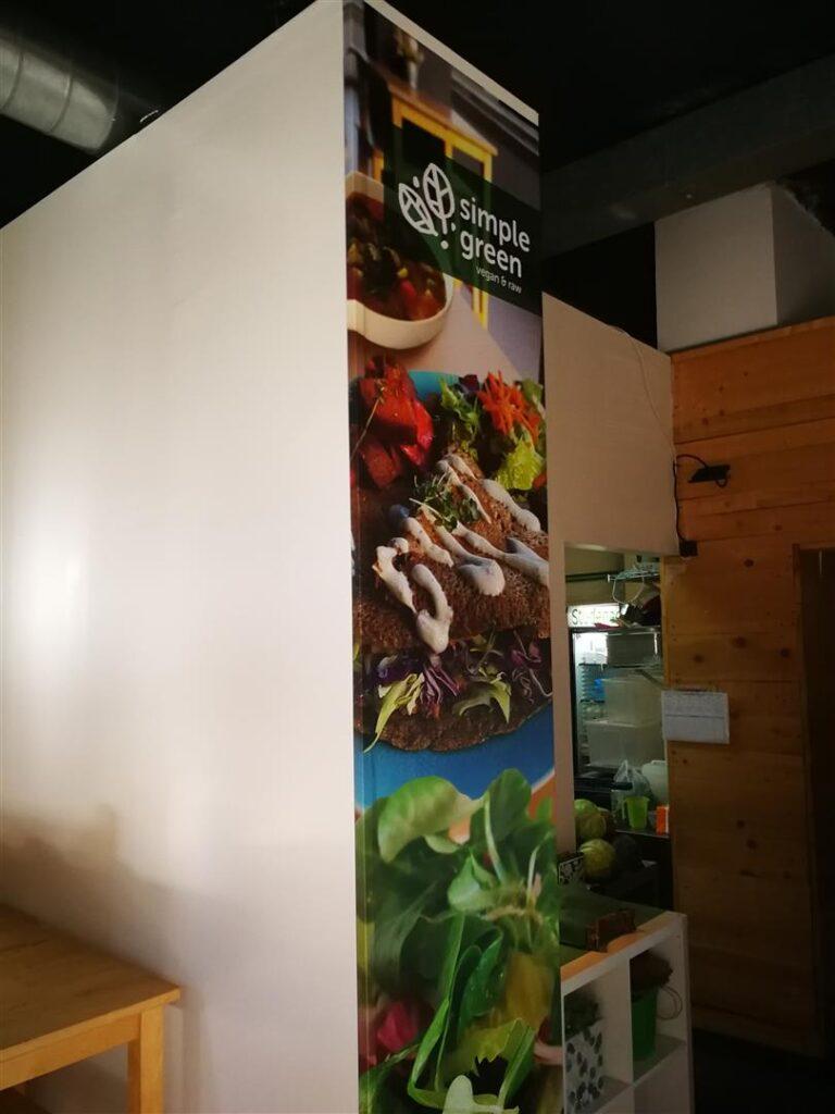 Simple green - Obljepljivanje zida sa folijom