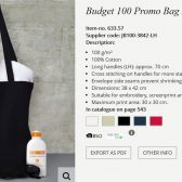 Budget 100g black