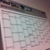 Kaširanje - Kalendar