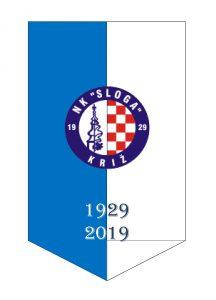 Stolna zastavica - NK Sloga
