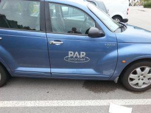 Srebrna folija - Pap promet