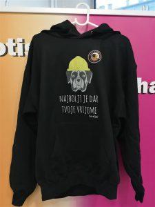 Papagalo - majica s kapuljačom