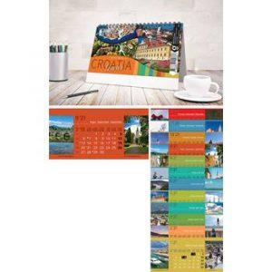 Kalendar stolni 13 Lisni 20x10+4 cm