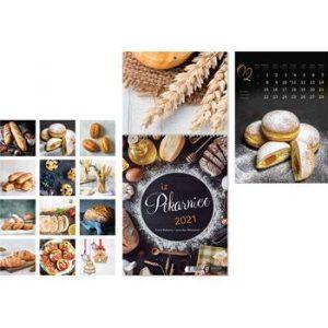 Kalendar zidni kruh-pekara 13lisni 24x34+20 cm
