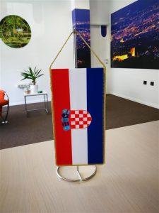 Stolna zastavica Hrvatska