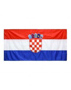 Svilena zastava Hrvatska 2x1 m- bez resica