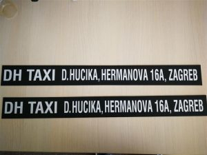 Taxi magnet - DH taxi