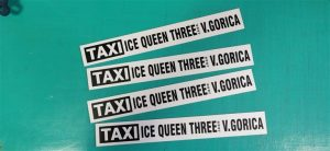 Taxi magnet - Ice queen