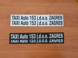 Taxi magneti - Taxi auto