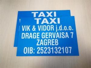 Taxi magneti - Vik i vidor