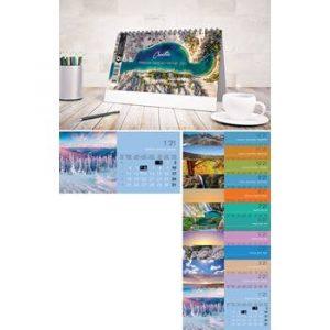 kalendar stolni 13 Lisni 20,5x10,5+4 cm