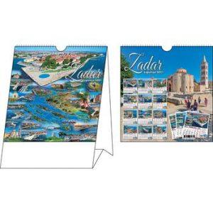 stolni kalendar 14 lisni 16+17+4 cm
