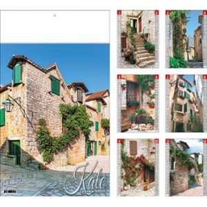 zidni kalendar 7 lisni 24,5x34,5 +10 cm