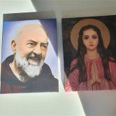 Canvas slika Padre pio i Filomena