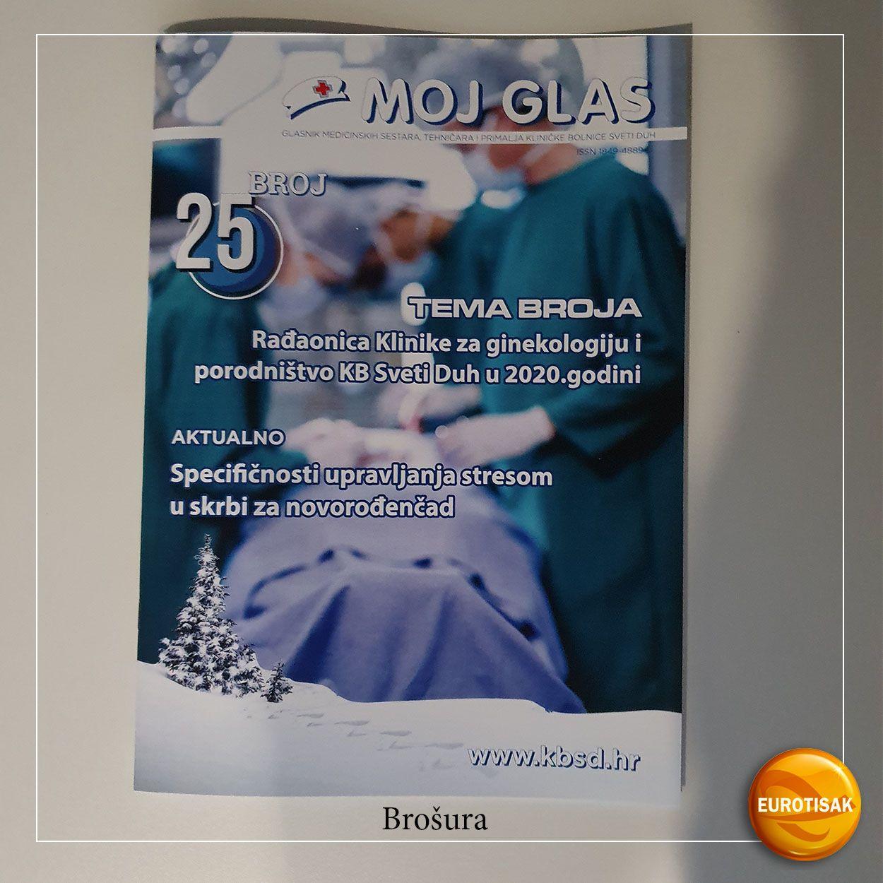 Brošura za Moj glas