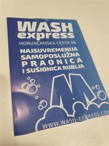Letak letci - Wash Express 1