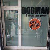 Oslikavanje izloga - Dogman