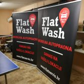 Roll up 150cm - Flat wash