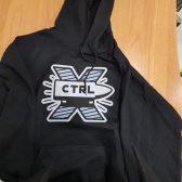Tisak na hoodie - CTRL X 2