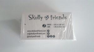 Vizitka - Skully and friends