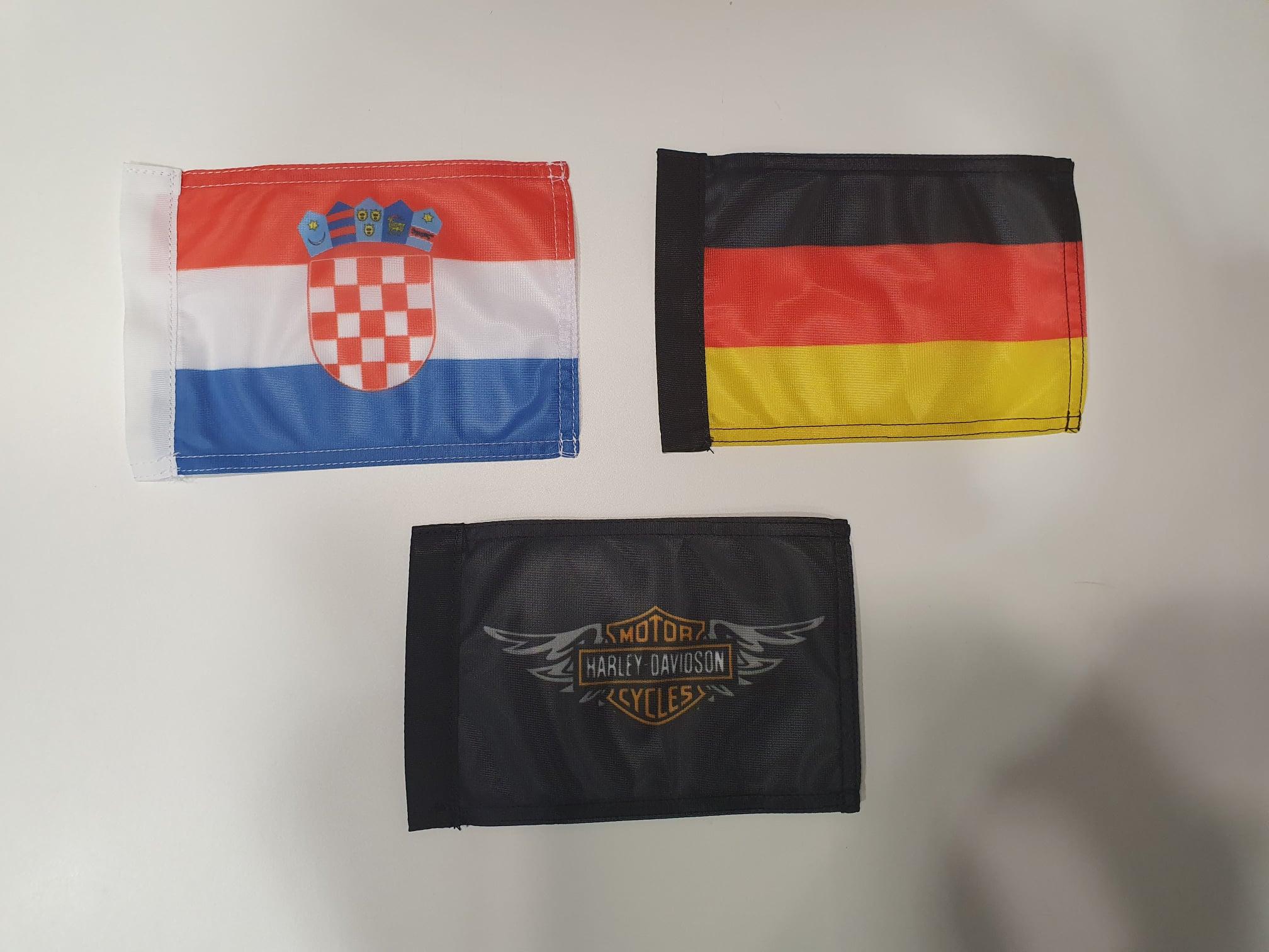 Zastavice za motor