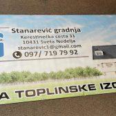 Baner - Stanarević Gradnja