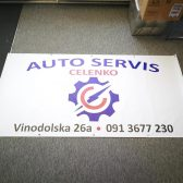 Baner cerada - Auto servis