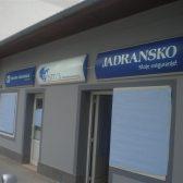 Svjetleća reklama plexi kutija - Jadransko osiguranje