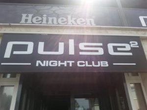 Svjetleća reklama plexi kutija - Pulse club