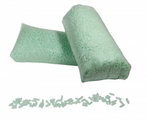 zeleni green materijal za ispunu