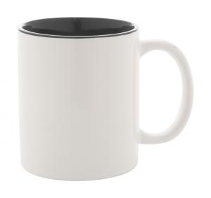 Coloured ceramic mug, 350 ml. In gift box.