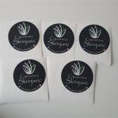 Kružne naljepnice pvc - Cvjećarna Škrinjarić