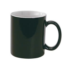 crna šalica 300 ml veličina 120×80×95 mm