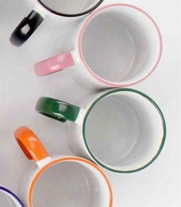šalice rub i ručka u boji