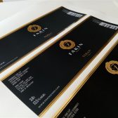 soft touch plastifikacija+zlatna folija