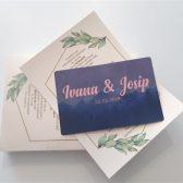 Pozivnica - Vjenčanje
